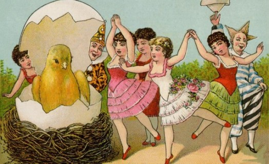 vintage-easter-celebration-chick